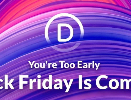 Divi Black Friday Is Coming